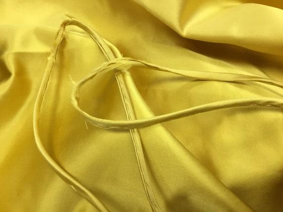 Vintage 1950's Harvey Berin Yellow Silk Gown - image 7