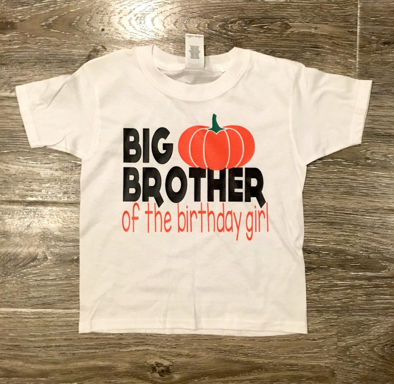 FAMILY PUMPKIN BIRTHDAY Shirts October Birthday Shirt
