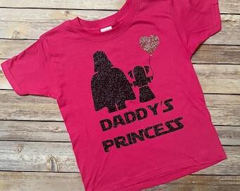 DADDYS PRINCESS SHIRT, Star Wars Shirt, Darth Vader Shirt, Princess Leia Shirt, I Am your Father Shirt, Star Wars Land, Daddys Little Girl