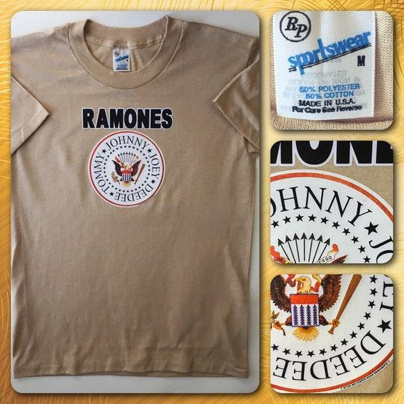 Vintage LICENSED Authentic NYC Ramones Rock N Roll