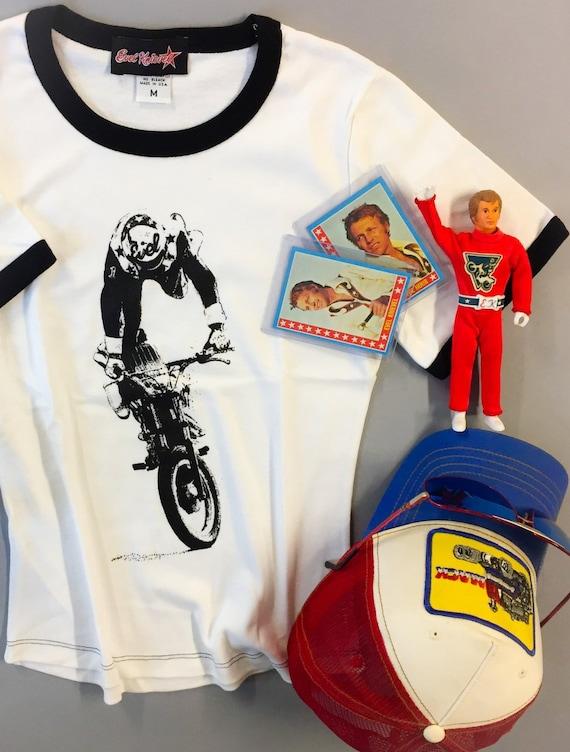 Vintage Original Evel Knievel Motorcycle Ideal Harley Davidson Etsy
