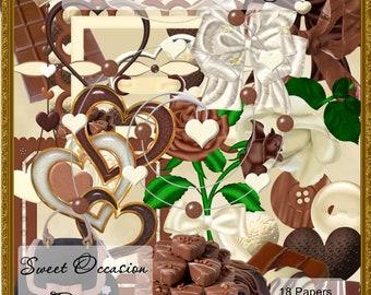 Chocolate Lover's Delight  Scrapbook, Scrap book, Scrapbooking Kit