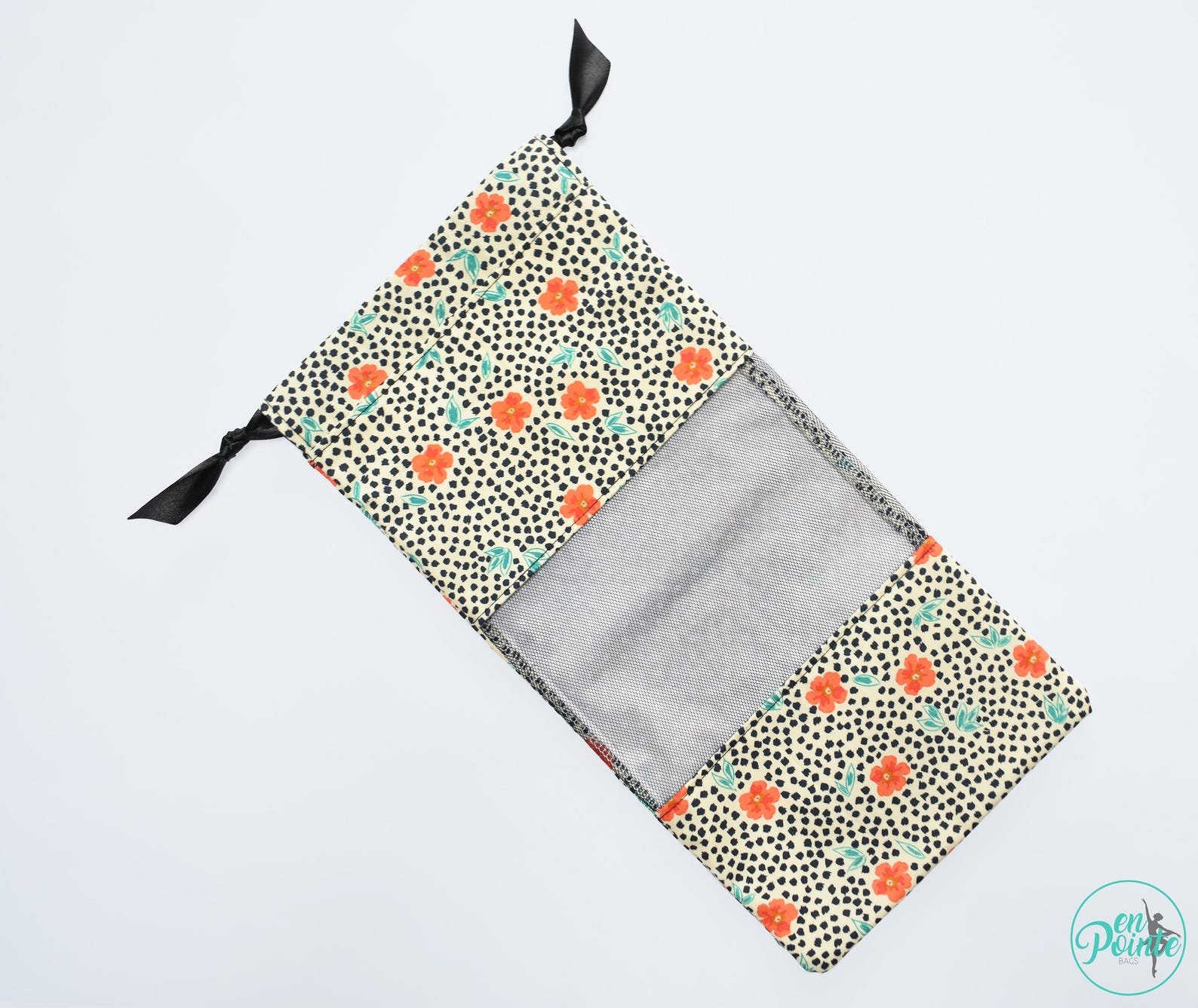 poppy | ballet pointe shoe bag - dance shoe bag - ballet bag
