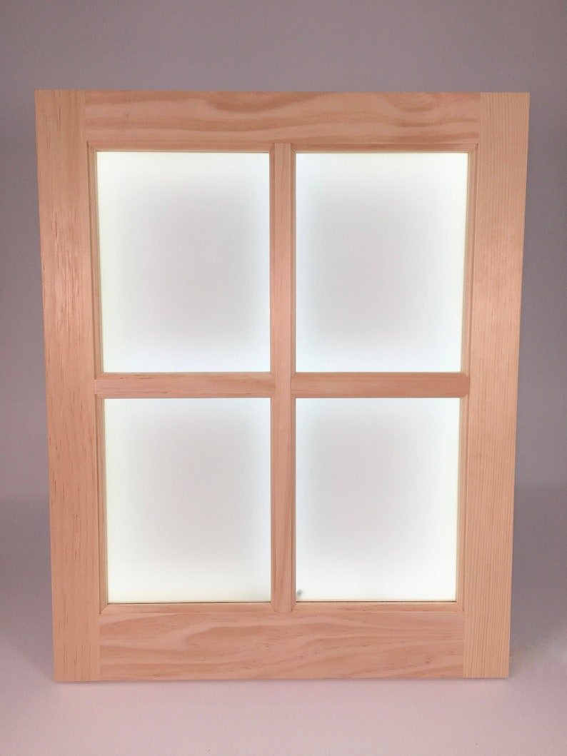 Faux LED Window Light Rough-In Version-Installs IN Wall image 0