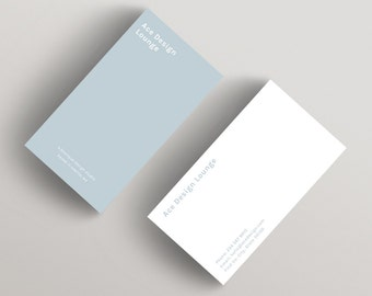 Ace | Minimalist Business Card Template | Business Card Template