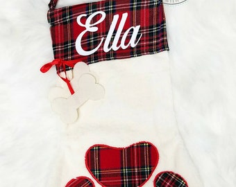 Pet Christmas Stocking | Dog Christmas Stocking | Cat Christmas Stocking | Preorder