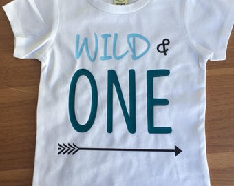 Wild ONE Arrow One Birthday Shirt 1st Boy And First Boys Outfit