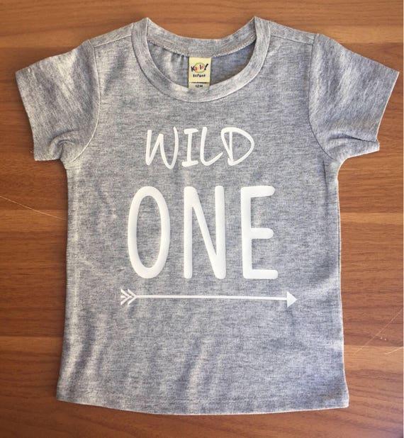 Wild ONE Shirt Arrow One Birthday 1st