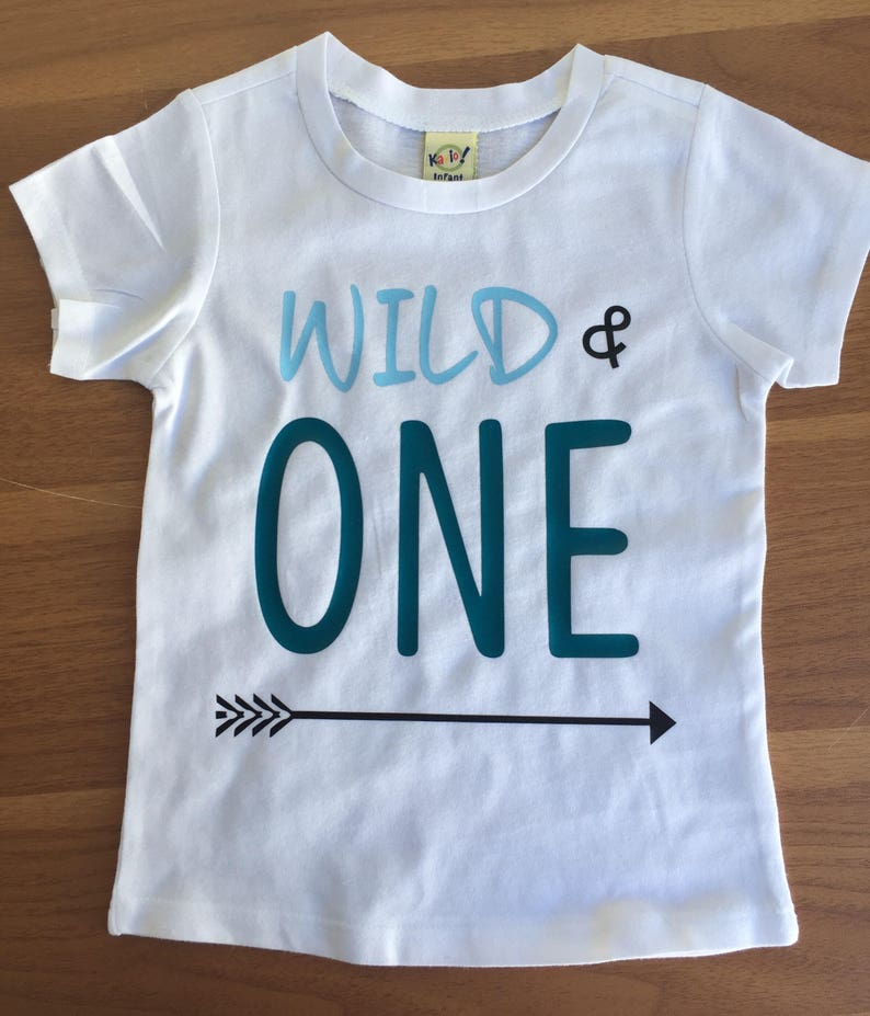 Wild ONE Arrow One Birthday Shirt 1st