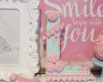 Shabby Chic Letter L