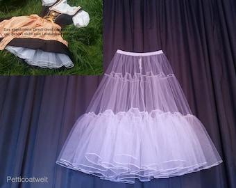 Petticoat,Tulle,Dirndl Underskirt