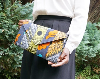 African clutch/ African print Bag/ Ankara clutch bag/ African envelope purse/ Ankara print clutch