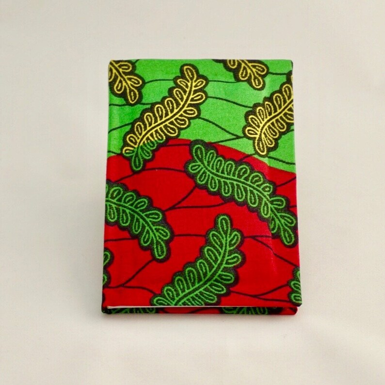 African print notebook