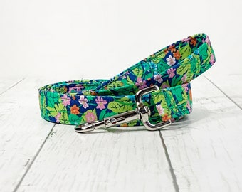 The Jungle leash  Dog leash matching with Jungle collar