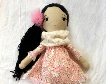 Flower Love Handmade Doll