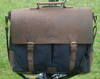 New Exclusive Handcrafted C Messenger Bag for BROMPTON in BLACK for M/H/P Handlebars Worldwide Shipping Brompton Luggage