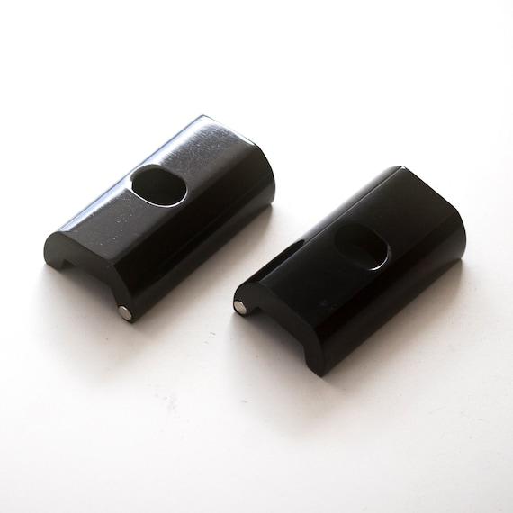 Brompton 2 x Hinge Clamp BLACK pair