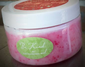 Candy Cane Holiday Sugar Scrub (various sizes)