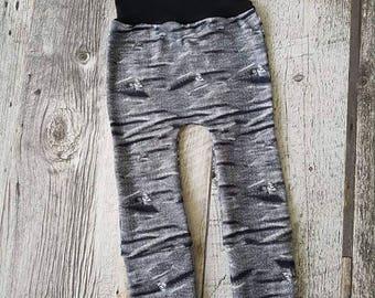 ENFANT- Evolutionary trousers- JEANS GRIS - False holes and wrinkles
