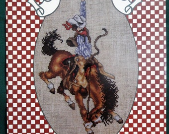 Best of the West Cross Stitch Pattern Booklet Cowboys Native American Indian Stoney Creek Collection 41