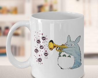 Cute Totoro Coffee Mug gifts, totoro mug, ghibli mug