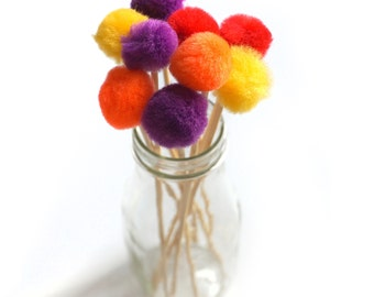 Bold Pom Stir Sticks