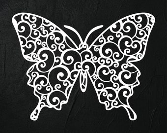 graphic relating to Papilio Printable Vinyl titled Butterfly vinyl Etsy