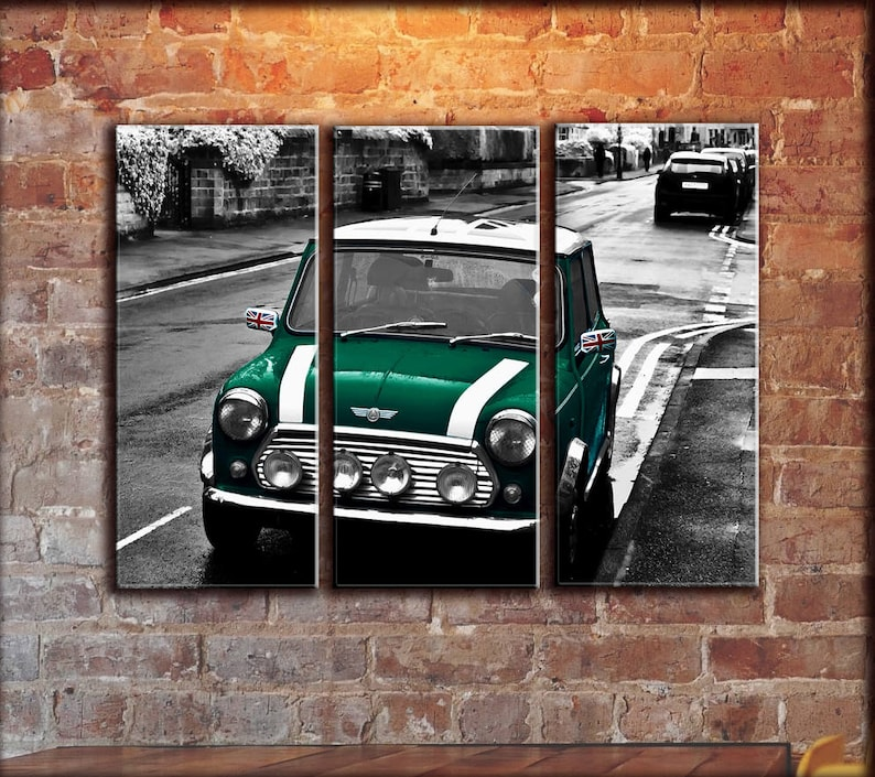 Big Set British Racing Green Colored Classic Old Austin Rover Etsy