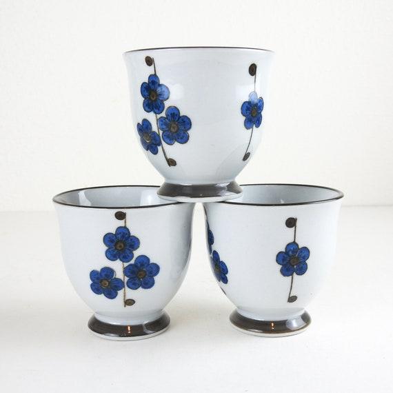 Vintage Porcelain Teacups / Asian Style Teacups