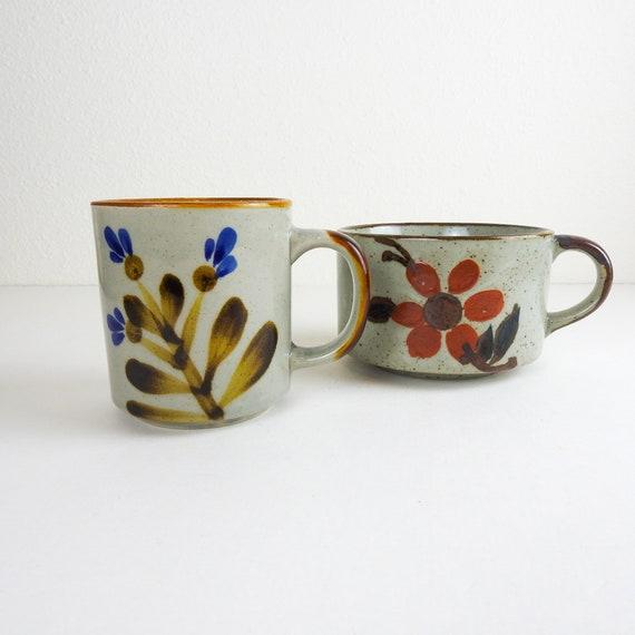 Otagiri Style Stoneware Coffee Mugs
