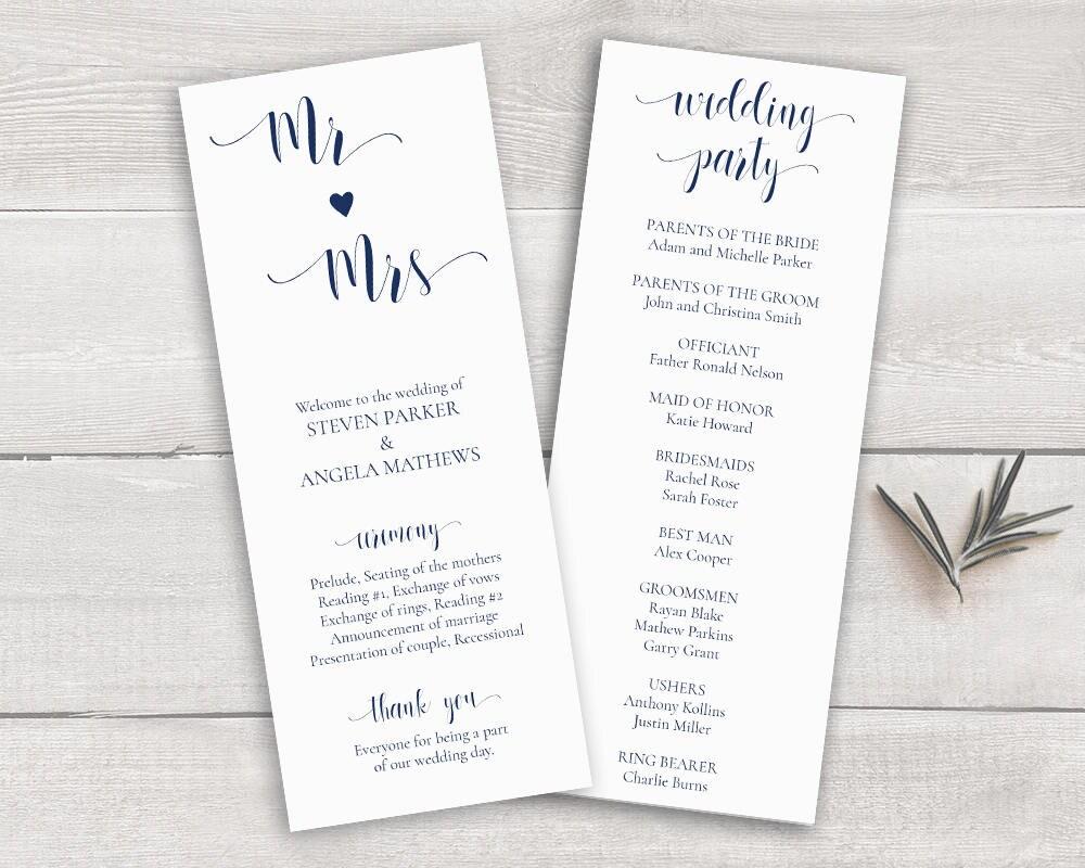Gemütlich Hochzeitsprogramm Wort Vorlage Bilder - Entry Level Resume ...