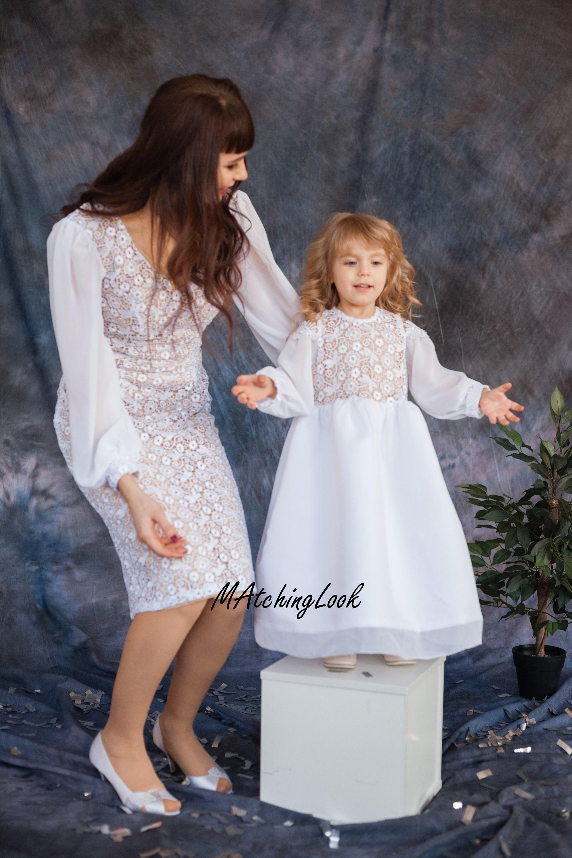 Kleid zur kommunion mutter