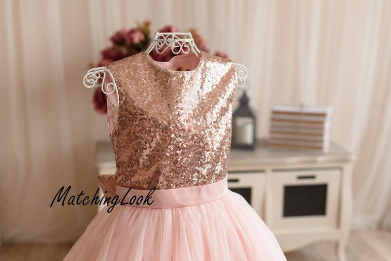 Geburtstag Gold 1etsy Mädchen Rose Xtopzkiuw Blume Kleid tsrBhQCxd