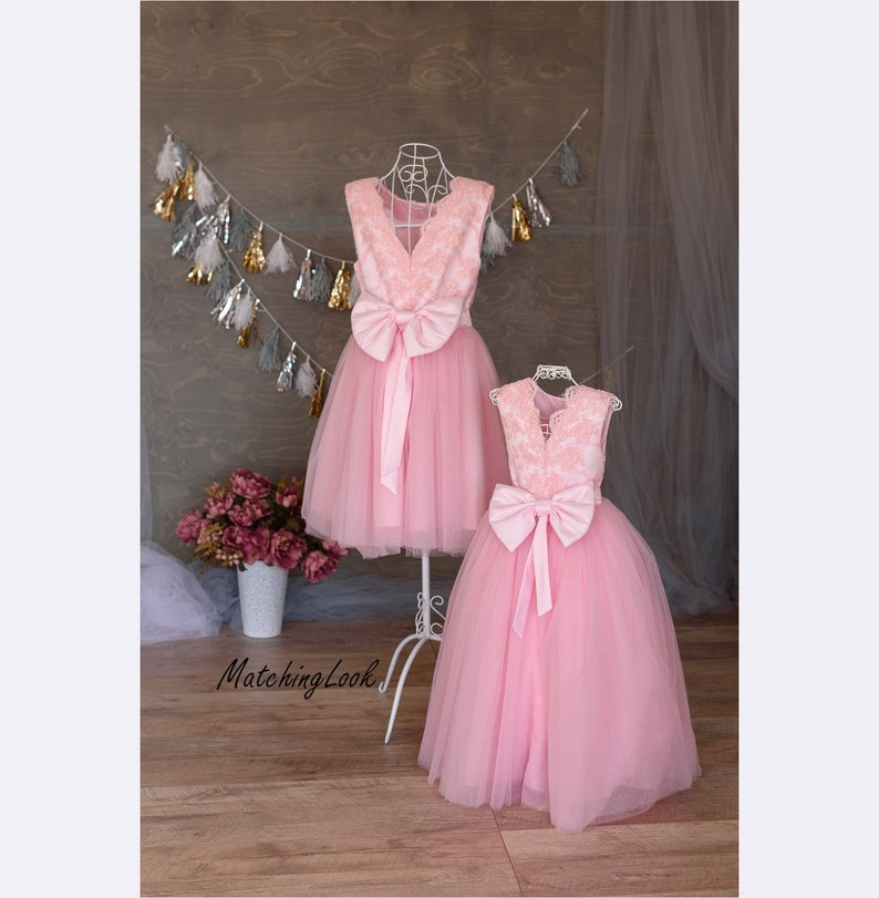 370fa802b02 Mommy and Me outfits Mother daughter matching dress Matching