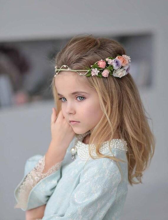 Flower Girl Crown Wedding Flower Crown Wedding Flower Girl  986452bb490