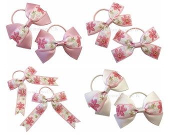 Pretty floral hair bows 5cadf507c41