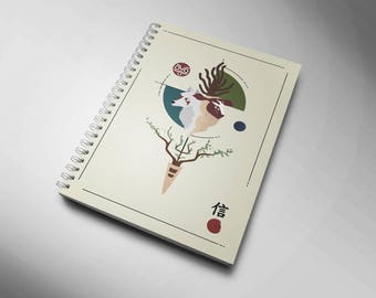 Notebook Princess Mononoke - Mononoke Hime