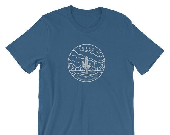 Wanderer Texas Short-Sleeve Unisex T-Shirt