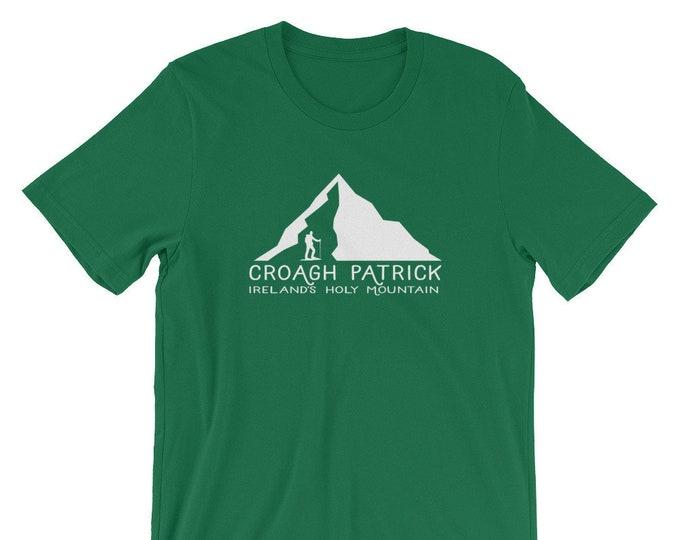 Croagh Patrick Mountain Short-Sleeve Unisex T-Shirt