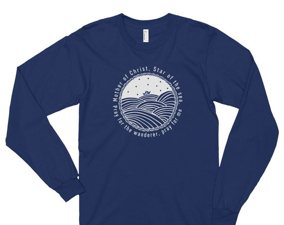 Star of the Sea Long Sleeve T-shirt (unisex)