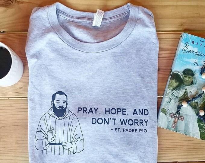 Padre Pio Unisex T-Shirt