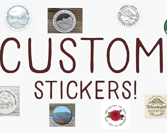 Custom Stickers for Megan