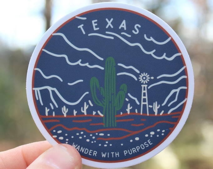 Wanderer Texas Sticker