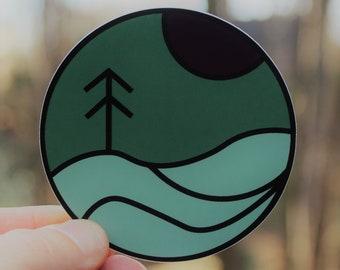 Wanderer Logo Sticker