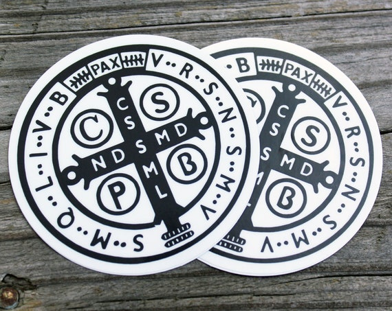 St. Benedict 1880 Jubilee Sticker 2 pack