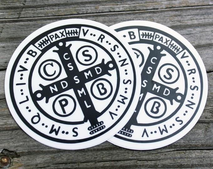 St. Benedict 1880 Jubilee Sticker 2 pack