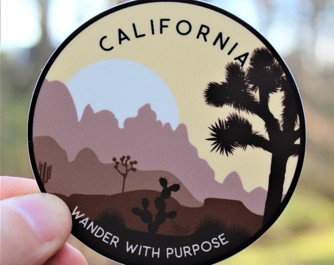 Wanderer California Sticker