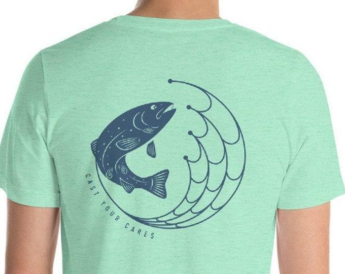 Cast Your Cares Short-Sleeve Unisex T-Shirt