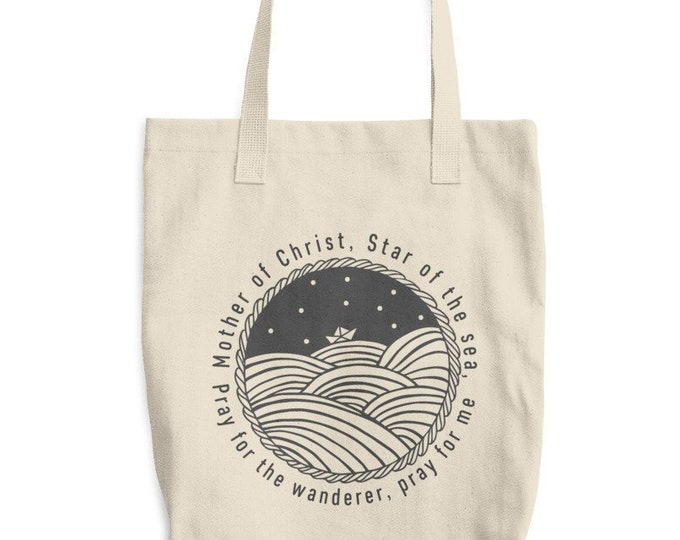 Star of the Sea Cotton Tote Bag