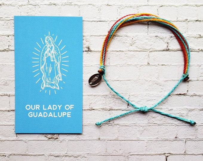 Wanderer Companion Bracelet | Our Lady of Guadalupe